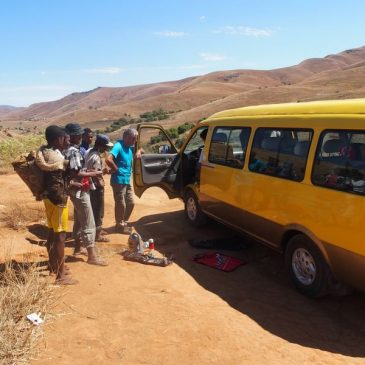 Du camp Catta à Fianarantsoa en passant par Ambalavo