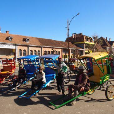 D'Antsirabe à Miandrivazo transfert pour rejoindre l'embarcadère