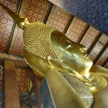 Visite de Bangkok, What Pho et le Grand Bouddha
