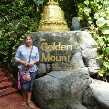 Le temple du Mont d'or et visite de la maison de Jim Thompsom