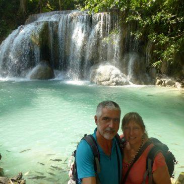 Le parc national forestier d'Erawan aux 7 cascades