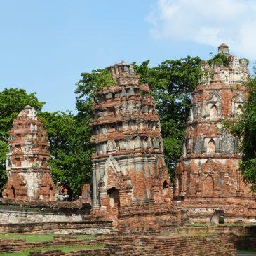 Visite du parc historique d'Ayutthaya