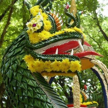 Le festival Loy Krathong à Sukhothaï