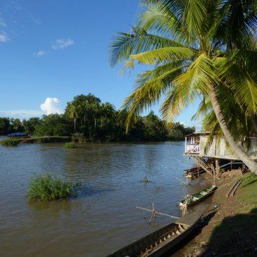 Les 4000 îles à l'extrême sud du Laos
