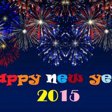 Très bonne et heureuse année 2015 à tous