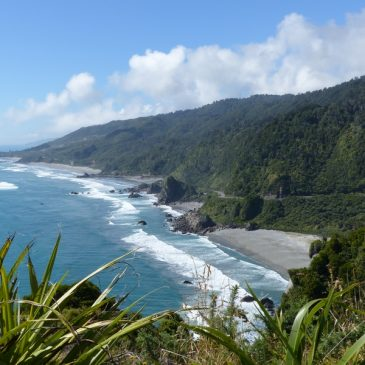 Du parc Abel Tasman à Hokitika
