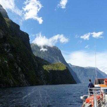 Le fjord de Milford sound